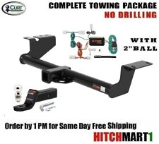 """FITS 2003-2005 NISSAN MURANO CLASS 3 CURT TRAILER HITCH PACKAGE w 2"""" BALL  13571"""