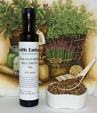 Fresh Cold Pressed Milk Thistle Oil 250 ml - Health Embassy