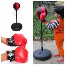 Boxing Punch Pear Speed Ball Boxing Punching Bag Speed Bag Gloves Kids Set