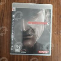 METAL GEAR SOLID 4 Guns of the Patriots ( Playstation 3 PS3  ) TESTED