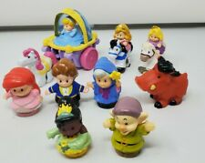 Fisher Price Little People Disney Lot Princesses, Pumba, Klip Klop, Carriage