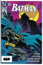 Dc Comics # Batman 463 (Far From Civilization Must Confront Unthinkable ) Nm