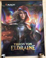 SELTEN, Magic the Gathering FOIL-PROMO-Poster THRON VON ELDRAINE, ROWAN