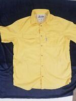 Columbia Shirt Vented Bahama II Short Sleeve Button Front PFG Men size L