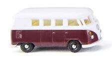 WIKING Modell 1:160/N PKW - VW T1 Bus - weinrot/weiß #093202 NEU/OVP