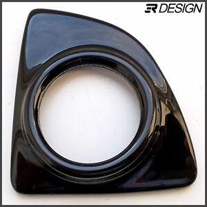 Vauxhall opel astra J mk6 gauge holder air vent adapter VXR ABS gloss black