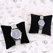 New 5pcs Velvet Bracelet Bangle Watch Jewelry Pillow Cushion Display Showcases
