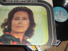 "LP 12"" AMALIA RODRIGUES OICA LA O SENHOR VINHO ITALY 1972 VG+/EX"