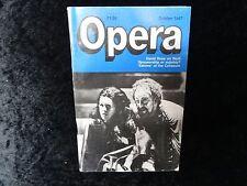Opera Magazine - October 1987