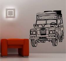 HUGE LANDROVER wall art sticker vinyl CAR SERIES