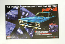 Puffball Super Commando Promo Poster Gearhead Records Mopar Swedish Garage Punk