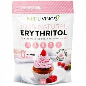 Powdered Erythritol by NKD Living - Zero Calorie Icing Sugar
