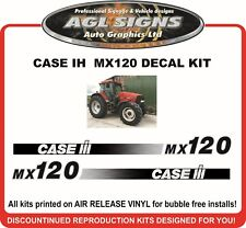 CASE INTERNATIONAL MX120 Reproduction Decal Set  mx110  mx135