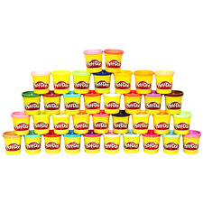 Play Doh Mega Pack 36 Cans Lots For Sale Assorted Color Refill Bulk Game .