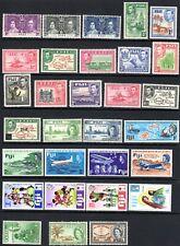 (A-651) Fiji 1937 - 1973 MH - includes Sc#119-120