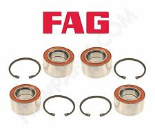 Mercedes W163 ML320 ML350 ML430 Set of Two Front and Two Rear Wheel Bearing Kits