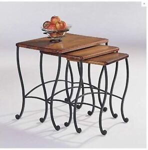 NEW Coaster Fine Furniture 3 Piece Nesting Tables SET Three Table Living Room