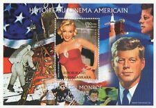 MARILYN MONROE STORIA del Cinema Stelle e Strisce JFK 1999 Gomma integra, non linguellato FRANCOBOLLO SHEETLET