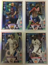 UEFA CHAMPIONS LEAGUE 2018-2019 TOPPS MATCH ATTAX - EXCLUSIVE CARDS