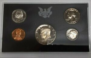 1972-S US Mint 5 Coin Proof Set with OGP as Issued