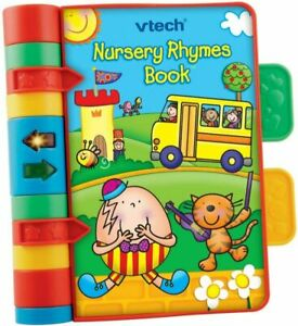 VTech Baby Nursery Rhymes Book | Light Up, Interactive, Musical Multi-Colour