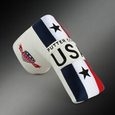 USA Magnetic Putter Cover Headcover for Taylormade Odyssey Scotty Cameron USSHIP