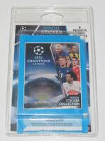 Set Lot x8 Paquets de Stickers UEFA Champions League 2016/17