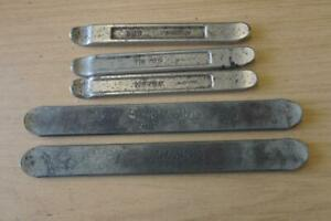5 X VINTAGE TYRE LEVERS - BMW HEYCO & MELCO