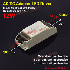 AC-DC Converter AC 85V-265V To 12V 1A 12W Power Supply Adapter LED Light Driver