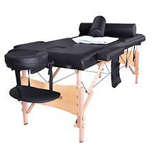 BestMassage Portable Massage Table  Bed W/sheet Cradle Cover 2 Bolster Hanger...