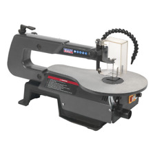 SM1302 Sealey Variable Speed Scroll Saw 406mm Throat 230V [Power Saws]