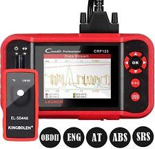 LAUNCH CRP123 OBD2 Scanner Car Engine ABS SRS Transmission Diagnostic Scan Tool