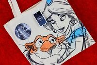 Jasmine/ Aladdin LIMITED EDITION Disney Canvas Tote Bag Collectable BNWT