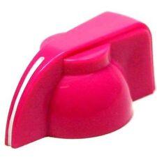 """Chicken head pointer amp knob set screw 1/4"""" - hot pink"""