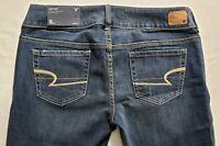 AE American Eagle Artist Womens Denim Blue Jeans Size 31 x 30 Boot Cut Dark NWT