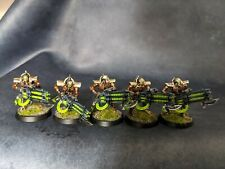 Pro Painted 40k Necrons immortals Gauss blasters indomitus