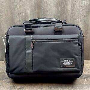 Samsonite Open Road Laptop Briefcase, Jet Black, 15.6-Inch