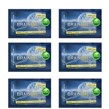 BRAIN PILL Focus Supplement BOOST Memory Cognizin Synapse factor-6 Month Supply