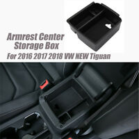 Storage Box Center Console Organizer Armrest Tray FOR   Tiguan Armrest 16 - 18