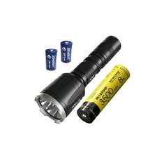 NITECORE CI7 Dual Output IR Flashlight - 2500 Lm, 7000mW w/3500mAh battery and 2