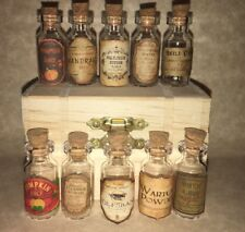 LABELS ONLY Halloween Small Apothecary Potion Bottles Harry Potter Party Prop