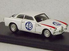 Alfa Romeo Giulietta Sprint 1° Targa Florio 1960  Cocco-Sabbia 7345 1/43 Bang