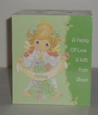 2003 Precious Moments Wooden Tissue Box Cover New In Box Fast Shipping