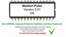 WALDORF PULSE-version 2.01 firmware Upgrade Update eprom OS for analog synth