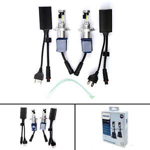 For PHILIPS LED-HL H4 12V 17W 6000K Ultinon Essential LED Car Light Bulb U.S