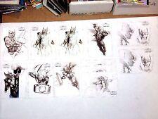 2011 THOR MOVIE Concept Series Insert CHASE 12 CARD LOT THUNDER GOD RAGNAROK!