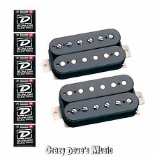 Seymour Duncan Slash APH-2S Black Alnico II Pro Pickup Set NEW w Dunlop Med x 6