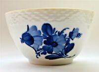 Vintage Mid Century Royal Copenhagen Blue Flower Dessert Fruit Soup Bowl (1959)