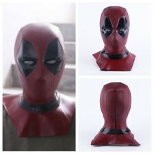 X-Men Deadpool Mask Halloween Hood Full Face Latex Helmet Cosplay Party Props