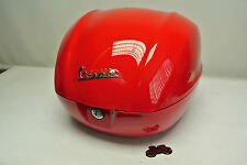 w\wGenuine Vespa Primavera / Sprint Painted Top Box - Dragon Red 894
